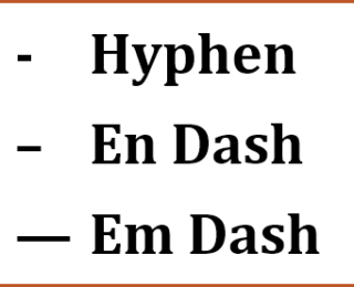 Writing with Ryan: The En Dash | Jera Publishing